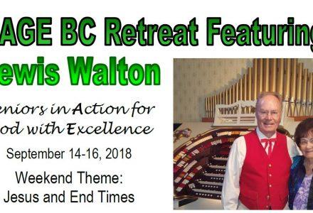 SAGE BC Retreat 2018