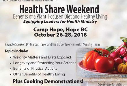 Health Share Weekend 2018